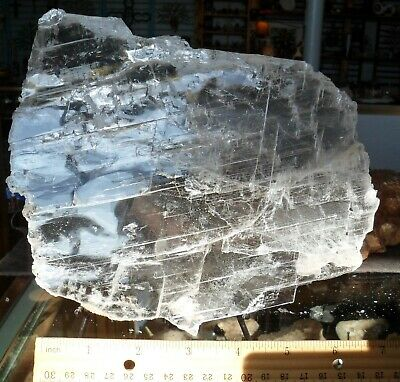 Selenite Plate#11-Crystals-Charging-New Age-Reiki