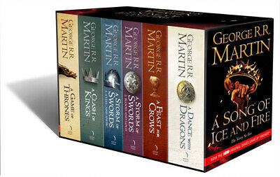A Game Of Thrones: The Story Continues (Volumes 1-5) 6 Books By George R.r. M...