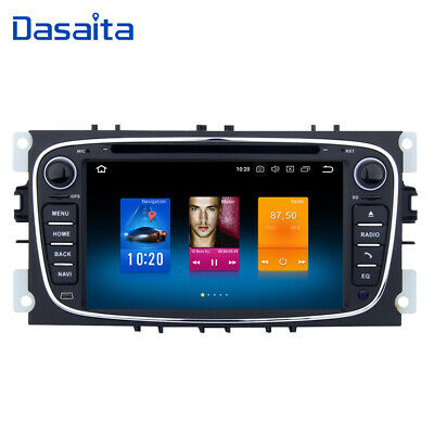 Car Radio Android 9.0 for Ford Focus Mondeo Fusion Auto GPS Stereo Navi Headunit