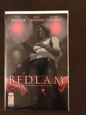 Bedlam 3 Nm+, First Print, Nick Spencer, Riley Rossmo