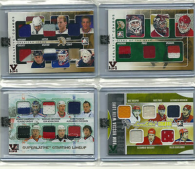 Russia With Love Vault 1/1 on 2012 Fall Expo Superlative Combos GOLD. Emerald