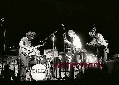 ICONIC WOODSTOCK BETHEL NY1969  GRATEFUL DEAD PLAYING ON STAGE 5 x 7 PHOTO ONLY