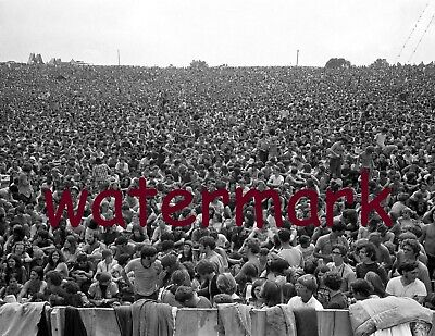 Iconic Woodstock Bethel Ny1969 Unbelievable Crowd Of People Publicity Photo