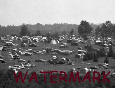 Iconic Woodstock Bethel Ny1969 Fans Camping Out For The 3 Days Publicity Photo