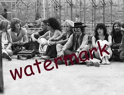 Legendary Woodstock Festival In Bethel Ny1969 Fans Sitting  Publicity Photo