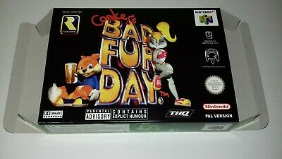 Conker's Bad Fur Day - PAL  - Nintendo 64 - N64 - Only Box