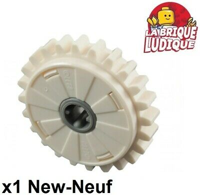 Lego technic - 1x engrenage pignon gear 24 tooth clutch embrayage 60c01 NEUF