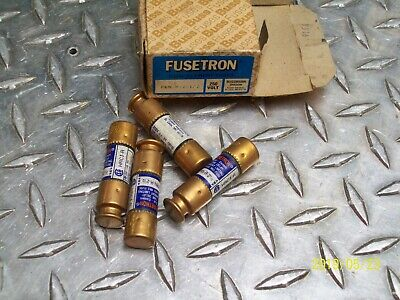 *Lot Of 4* New Bussman Frn-R-2-1/2 Fusetron Fuse 2-1/2A 2-1/2 Amp