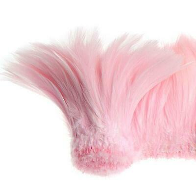 "Coque Hackle 4"" - 6"" Bebé Rosa"