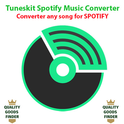 Tuneskit Spotify Music Converter For Windows - Converter any song for SPOTIFY