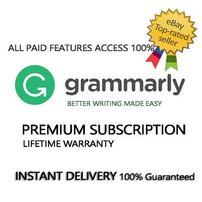 | SALE | Grammarly Premium Lifetime Account [Quick Delivery] 100% Guaranteed!