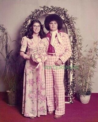 In Style Couple at their senior prom photo from 1974 PUBLICITY PHOTO
