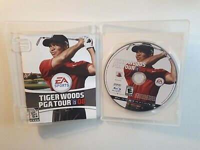 Tiger Woods PGA Tour 08 (Sony PlayStation 3 PS3, 2007) COMPLETE CIB - FAST SHIP!