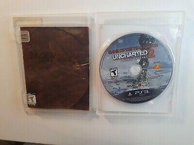 Uncharted 2: Among Thieves Playstation 3 Ps3 W/ Original Box Good Complete Cib