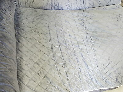 FurHaven Pet Dog Bed  Deluxe Orthopedic  Quilted L-Chaise Couch Gray, 4XL