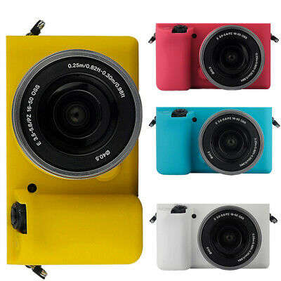 Silicone Camera Body Case Protective Cover Sleeve for Sony A5100/A5000 Eyeful