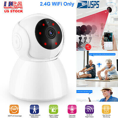 720P/1080P Security IP Camera Video Wireless Home Motion Detection Baby Monitor