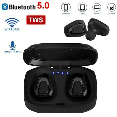 TWS True Wireless Bluetooth 5.0 Stereo Headset Earbuds MIC for iOS Android A1R4