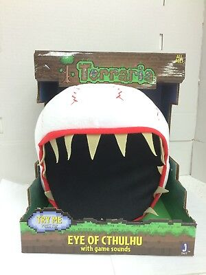 TERRARIA Eye of Cthulhu Feature Plush Toys(22 cm) With Game Sounds- RARE