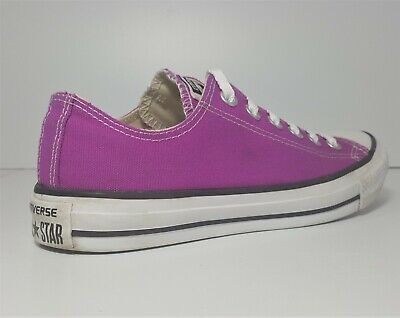 CONVERSE ONE STAR shoes Women's Size 9 Purple Fuchsia Lace