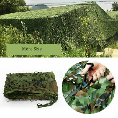 Oxford Fabric Camouflage 4x6M Camo Netting Hunting Shooting Hide Army Woodlands
