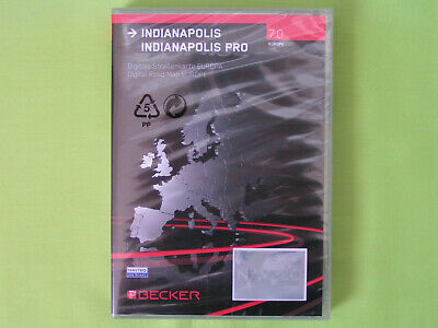 Neu Cd Navigation Becker Indianapolis 7.0 Europa Vw Mercedes Audi Bmw Porsche Gm