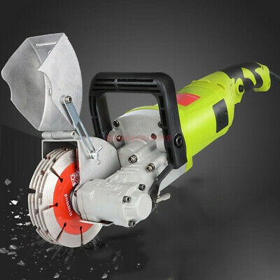 220V 33MM Electric Wall Chaser Groove Cutting Machine Wall Slotting machine 4KW