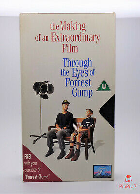 💥 The Making Of Forrest Gump - Vhs 💥 Rare Promo Video In Great Condition 💥
