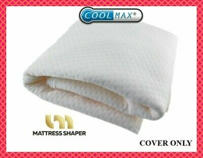 Memory Foam Mattress Topper COOL MAX COVER . Zipped COVER. COVER ONLY