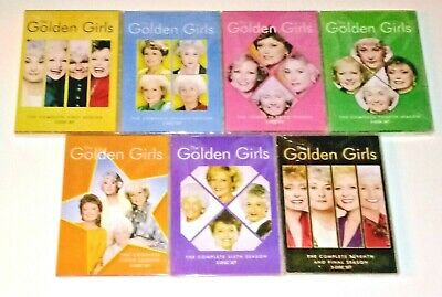 New! The Golden Girls: The Complete Tv Series 1-7. 21 Disc Dvd Bundle. Free Ship