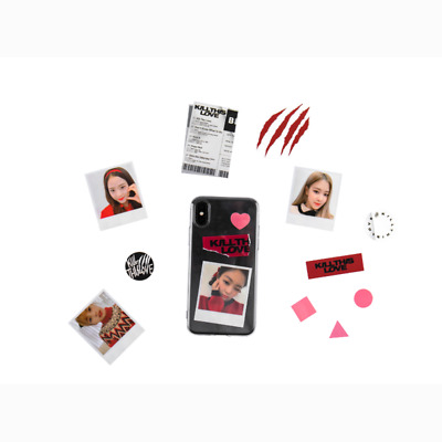 YG BLACKPINK Official MD KILL THIS LOVE CUSTOM PHONE CASE SET for Galaxy iPhone