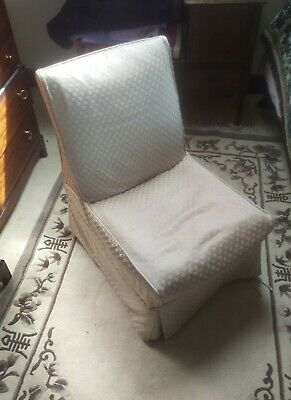 Vintage Ladies Boudoir Chair. Dressing/Bathroom
