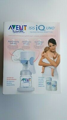 Avent Isis Iq Uno Electronic Breast Pump Used