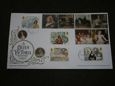 2019 GB QUEEN VICTORIA BICENTENARY FDC VICTORIAN BRITAIN VICTORIA PARK Cancel#2