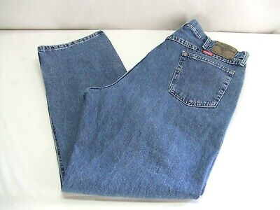 8211ffbb Wrangler 97601VR Relaxed Fit Denim Blue Jeans Mens Size (42x30) Ex. Cond.