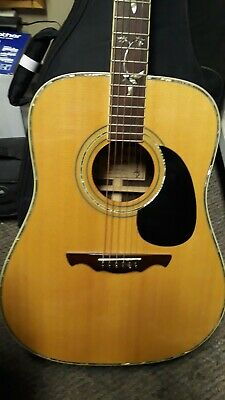 Alvarez Tree Of Life Acoustic Guitar