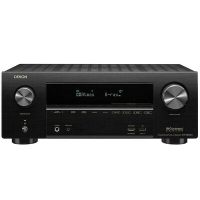 Denon AVR-X2600H 7.2 Ch 4k Ultra HD AV Receiver With 3D Audio And HEOS Built-in