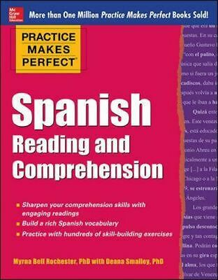 NEW Spanish Reading and Comprehension By Myrna Bell Rochester Paperback