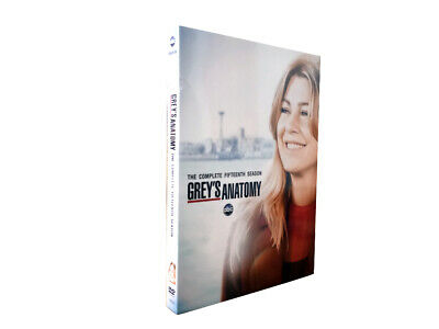Grey's Anatomy Season 15 DVD Complet 15th Series Box Set Brand New Limited Stock