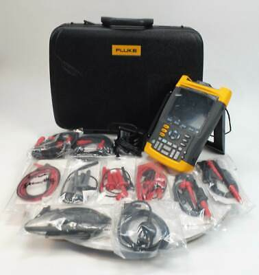Fluke 199C Digital Oscilloscope Scopemeter Multimeter 200MHz 2.5GS/s