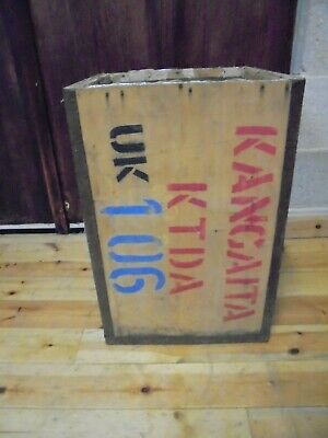 Vintage Packing Crate Wooden Box