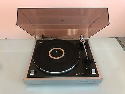 Vintage Philips 437 Turntable - Record Player - Real Sleeper
