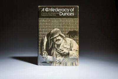 John Kennedy Toole / A Confederacy of Dunces Forward by Walker Percy 1st ed 1980
