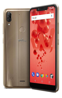 """Wiko 6943279418449 VIEW 2 - Cellphone - 8 MP 64 GB - Gold 15.0622 cm (5.93"""")"""
