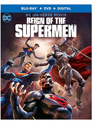 REIGN OF THE SUPERMEN (2PC)...-REIGN OF THE SUPERMEN (2PC) (W/DVD) / Blu-Ray NEW