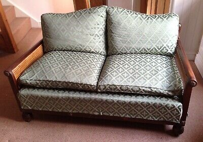 Vintage 1930s Bergere 2 seater Sofa