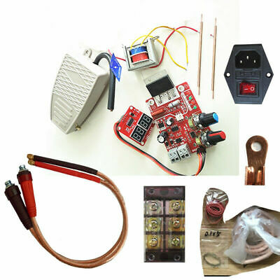 Spot Welder Whole Sets DIY kits Assembly Welding Machine NY-D01 Controller Pins