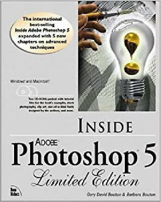 Inside Adobe Photoshop 5 Limited Edition (with 2 CDs SIGNED Gary David Bouton