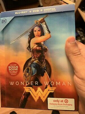 Wonder Woman: Target Exclusive Digi Book (Blu-ray/DVD/HD) Lenticular Cover