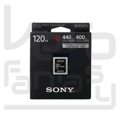 NEW Sony 120GB 440MB/s XQD G Series Memory Card (QD-G120F)